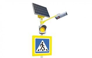 Светофоры на солнечных батареях