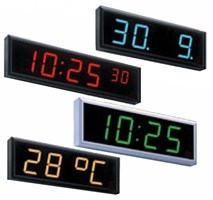 Уличные электронные часы