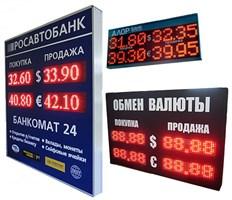 Электронные табло валют