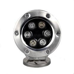 Подводный светодиодный светильник СДП-24 DC12V (RGB/3 in 1) модификация 1