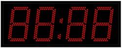 Уличные электронные часы 150 мм красные светодиоды