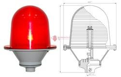 Заградительный огонь ЗОМ-3 10cd, тип А, 30-265V AC/DC, IP54 ТУ 3461-001-69016606-2010