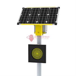 Автономный светофор SN Т.7.2 односторонний 300 мм 60Вт/17Ач