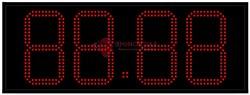 Табло цен АЗС 210 мм красные светодиоды