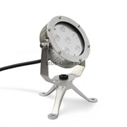 Накладной подводный светодиодный светильник СДП-12 DC12V (RGB)