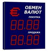 Табло валют попеременное 500х500