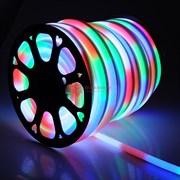 Гибкий неон RGB 220В