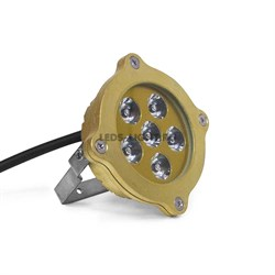 Накладной подводный светодиодный светильник СДП-7