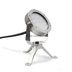 Накладной подводный светодиодный светильник СДП-26 DC24V (RGB)