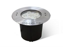 Встраиваемый подводный светодиодный светильник СДП-3 DC24V (RGB/3 in 1)