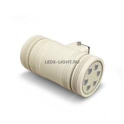 Светильник архитектурный светодиодный MS-12L220V 30 Вт. двухсторонний, бежевый корпус
