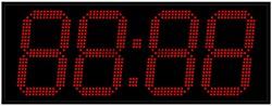 Уличные электронные часы 270 мм красное свечение