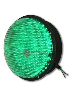 Зеленый светодиодный модуль светофора