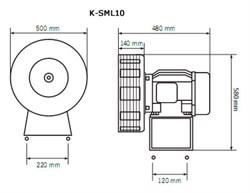 Схема сирены K-SML10