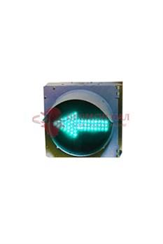 Зеленая стрелка светофора 200 мм