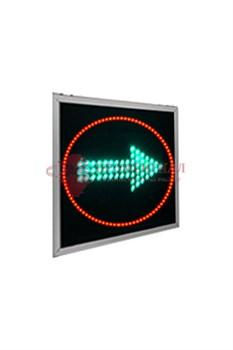 Дополнительная поворотная секция плоского транспортного светофора Т.1.2 300 мм
