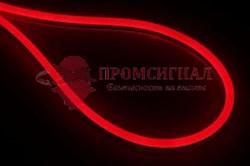 Гибкий неон 24В красный