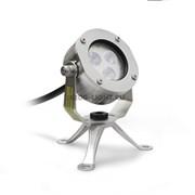 Накладной подводный светодиодный светильник СДП-6 DC12V (RGB)