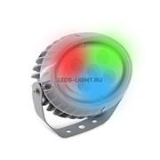 Светильник (прожектор) архитектурный светодиодный MS-OP RGB DC24V 15W IP65 угол 30' (RGB) (B-05-L)
