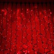 Световой занавес 2 х 1,5 м красный фиксинг